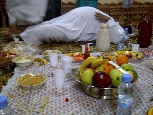 dès le soir du premier jour de ramadan les hôpitaux qataris ont