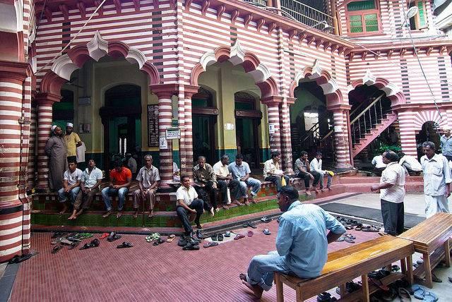 mosquée Sri Lanka Colombo