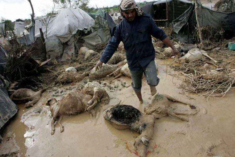 gaza-inondations