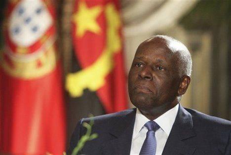 président angolais