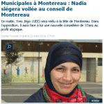 Montereau-Fault-Yonne : Nadia, la première femme voilée élue conseillère municipale