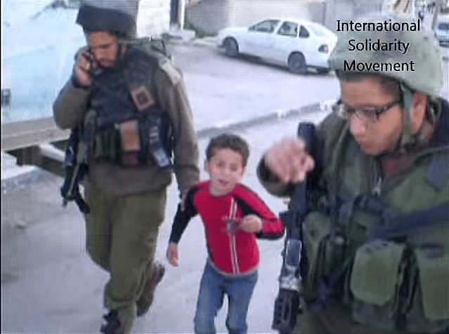 arrestation enfant palestine