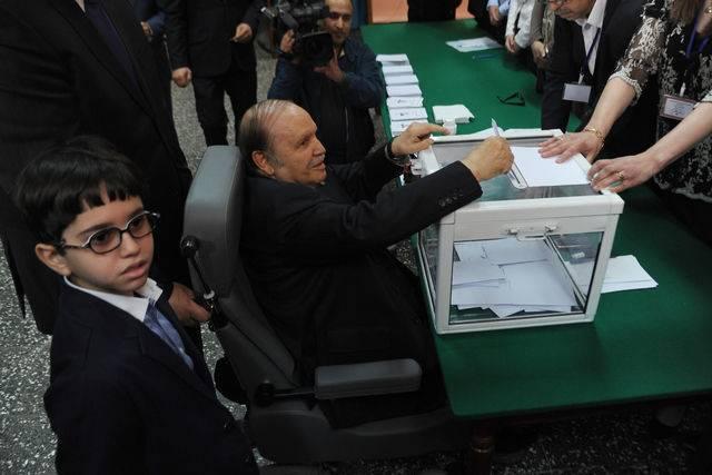 ALGERIA-VOTE-BOUTEFLIKA