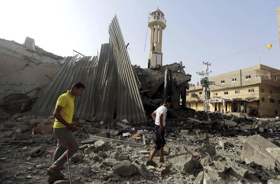 mosquéebombardéegaza