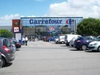 Le Centre Commercial Carrefour-Iroise au niveau du Point du Jour - Saint-Pierre (Brest)