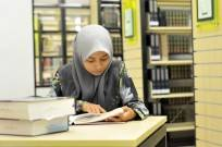 étudiante hijab