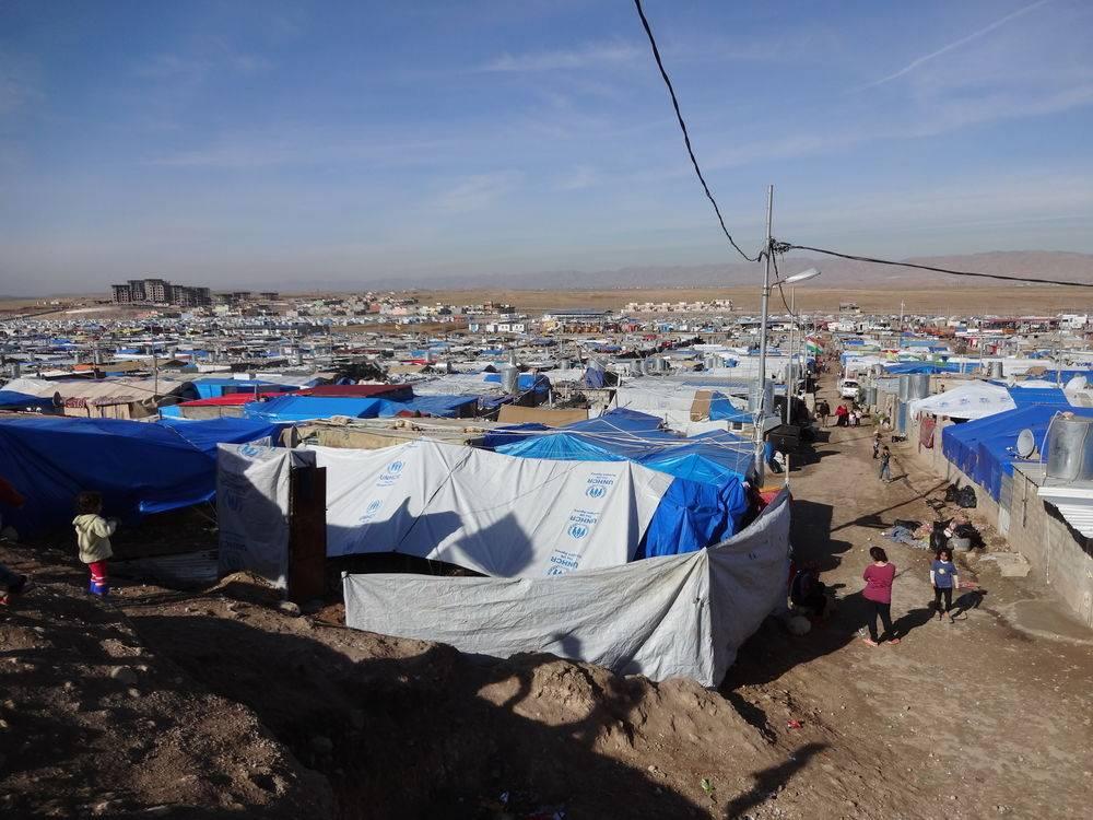 camp réfugiéssyriens