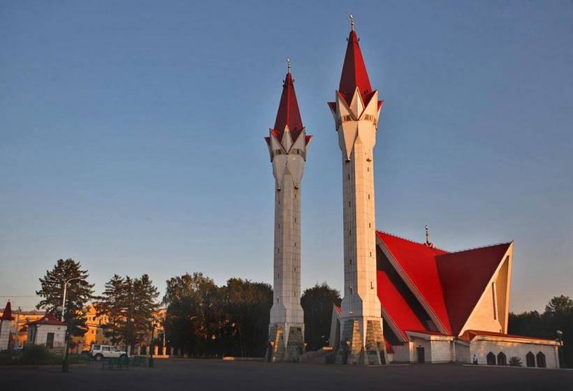 Sibérie : la mosquée Tulipe, la troisième plus grande mosquée de Russie