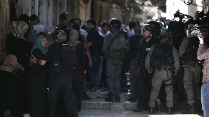 VIDEO– Nouveaux affrontements à la mosquée al-Aqsa