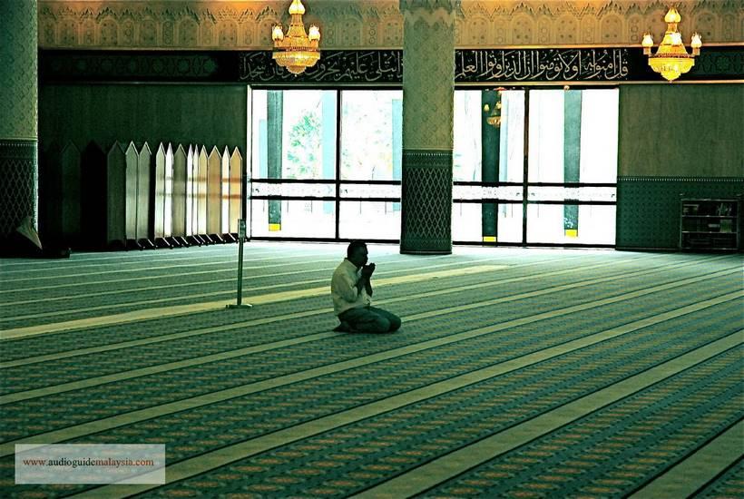 empty mosque