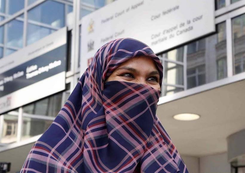 Zunera Ishaq: Le débat du voile intégral fait mouche au Canada