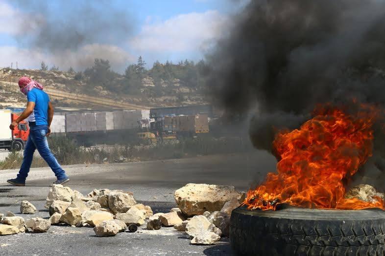 L'armée israélienne bombarde la bande de Gaza