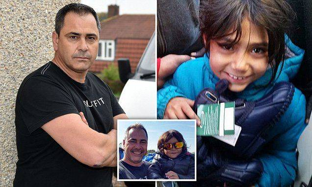 Copyright Ben Lack Photography LtdnAid worker Rob Lawrie from Guiseley, West Yorkshire could face jail for smuggling 4-year-old Bahar back to family in the UK in his van. nPic Ben Lack 07970 850611n£150 minimum use, irrespective of any previous use. £50 for internet use, irrespective of any previous use.