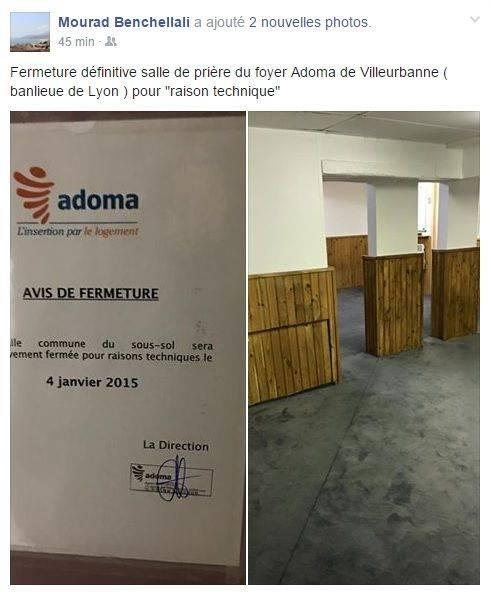 Lyon : encore une salle de prière fermée