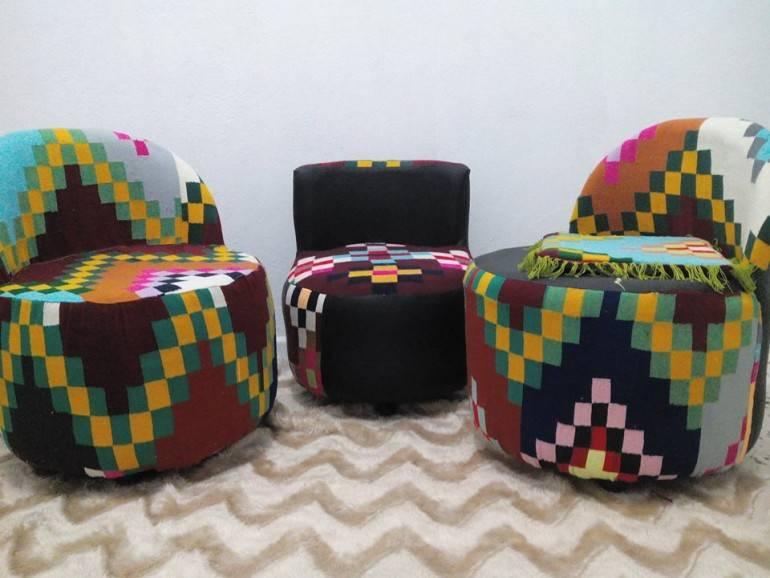 tunisie un jeune ch meur cr son entreprise en vendant des meubles faits de pneus usag s. Black Bedroom Furniture Sets. Home Design Ideas