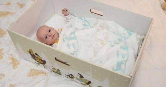 quand-les-bebes-dorment-dans-une-boite-en-carton