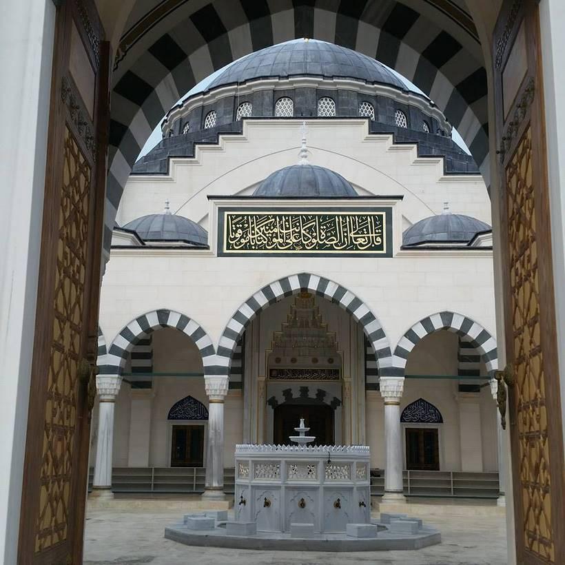 les ablutions à la mosquée dyanet