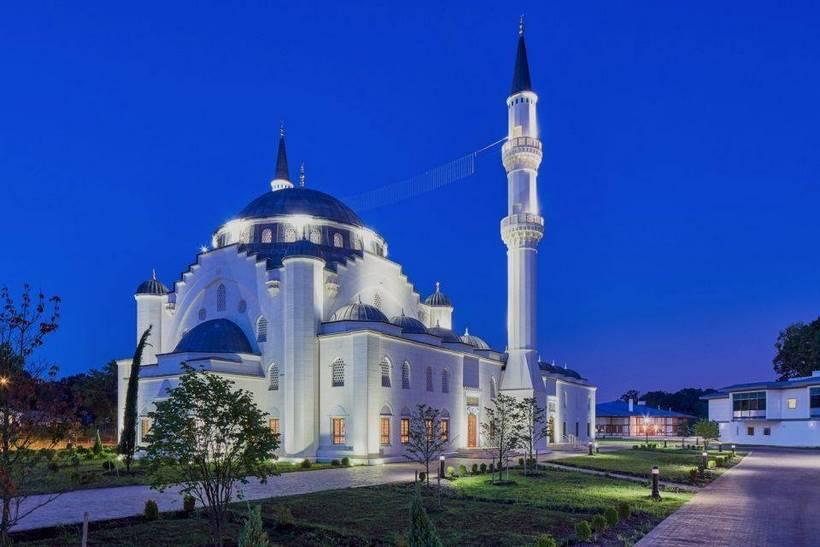 plus belle mosquée des etats unis