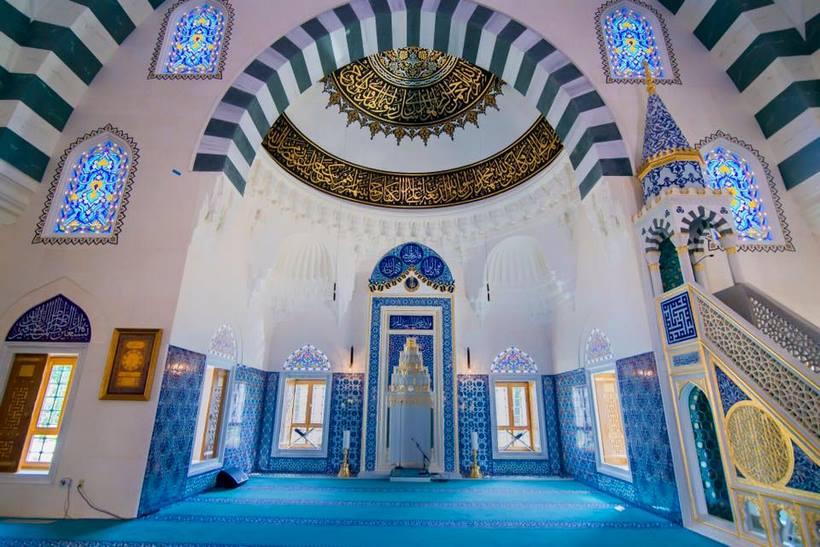 interieur mosquée centre dyanet of america