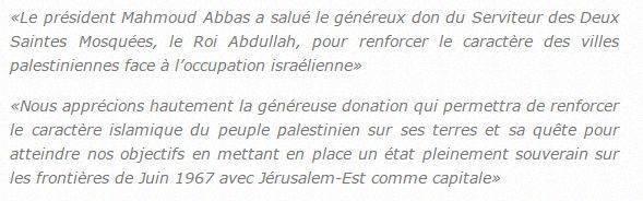 arabie et palestine