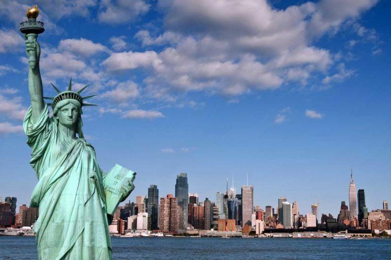 Haut Insolite: La statue de la Liberté est inspirée par une femme musulmane XN35