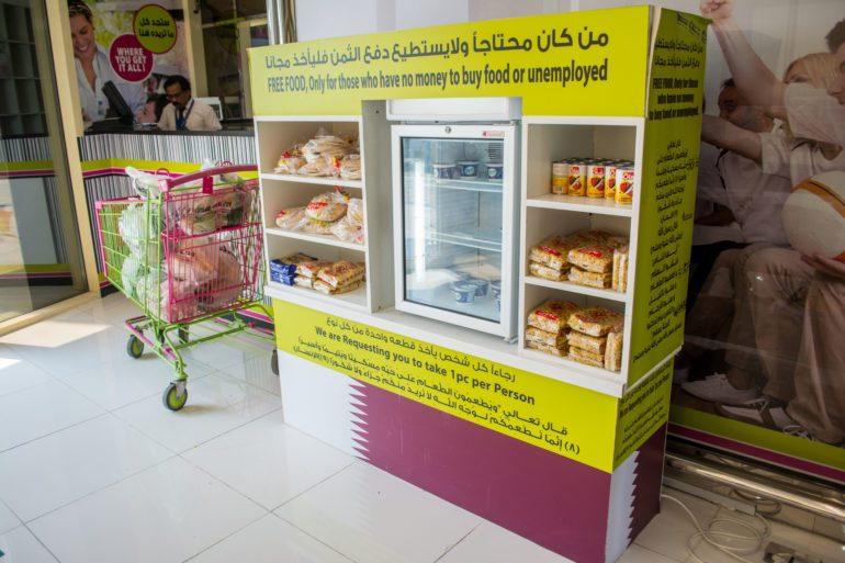 Le Qatar Met En Place Des Comptoirs Alimentaires Gratuits Pour Les