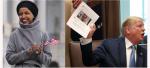 Ilhan omar, l'élue démocrate réagit contre les insultes de Donald Trump