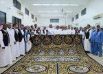 Photos – La Sainte Kaaba revêtue de sa nouvelle Kiswa