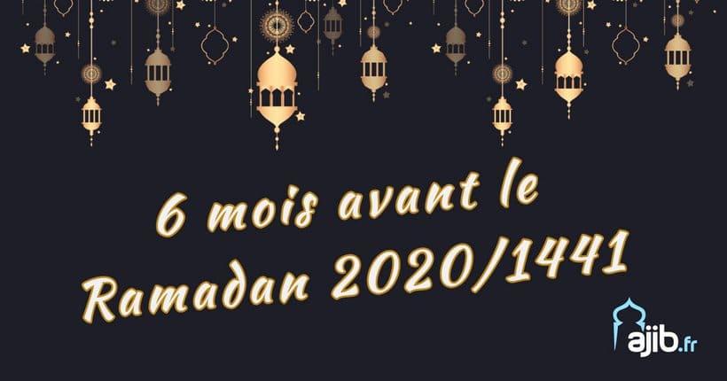 Calendrier Ramadan 2020.Le Compte A Rebours Est Lance Plus Que 6 Mois Avant Le