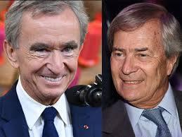Les milliardaires Arnault et Bolloré