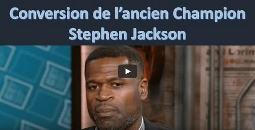 La conversion de Stephen Jackson, ancien champion de la NBA